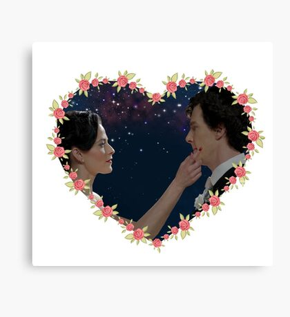 Adlock Hearted Canvas Print