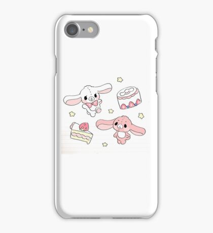 sugar bunnies iPhone Case/Skin