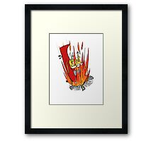 Tails S.O.S. Framed Print
