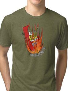 Tails S.O.S. Tri-blend T-Shirt