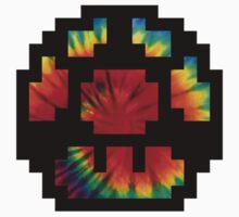 Tie Dye 8-Bit Super Mario Kids Clothes