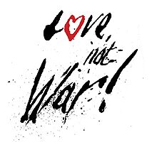 Love Not War by Neil McBride Photographic Print