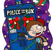 Lunar Holiday with the 11th Doctor by joshatomic