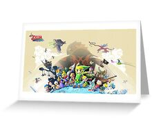 Wind Waker HD Poster Greeting Card