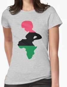 Motherland Africa Womens Fitted T-Shirt