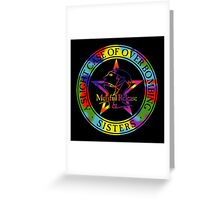 The Sisters Of Mercy - The Worlds End - A slight Case of Over Bombing Greeting Card