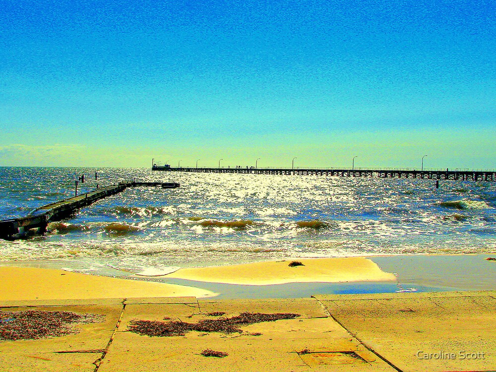 Busselton Jetty 2 by Caroline Scott