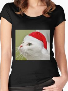 Sophies Home For Christmas Women's Fitted Scoop T-Shirt