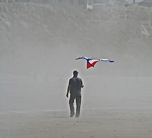 THE KITE MAN by oregonartphotos