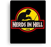 Nerds in Hell! Canvas Print