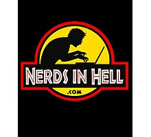 Nerds in Hell! Photographic Print