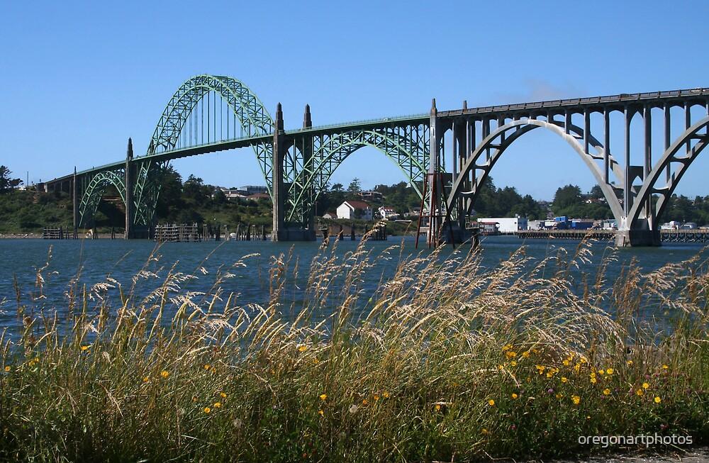 Yaquina Bay Bridge by oregonartphotos