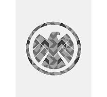 Geometric S.H.I.E.L.D. Photographic Print
