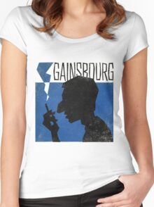 Serge Gainsbourg Women's Fitted Scoop T-Shirt