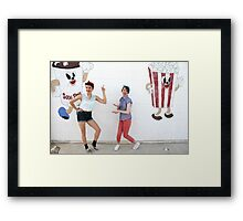 Groovin at the Drive In Framed Print