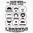 The Mustache Legends: Mustache November by Amanda Rinaldi