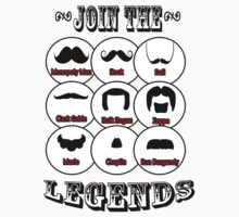 The Mustache Legends: Mustache November by twistedpainter