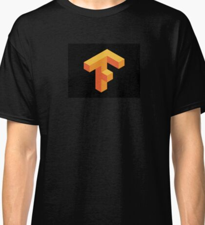 Tensorflow Clear Logo Classic T-Shirt
