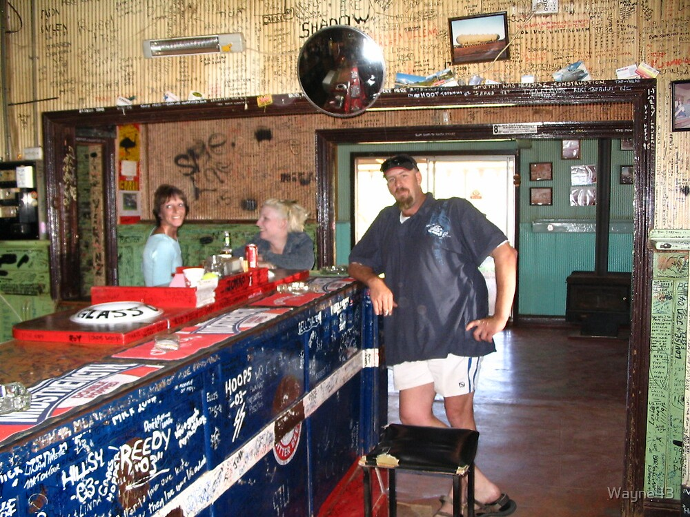 Sid at the Broadarrow Tavern by Wayne43
