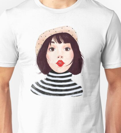 French woman Unisex T-Shirt