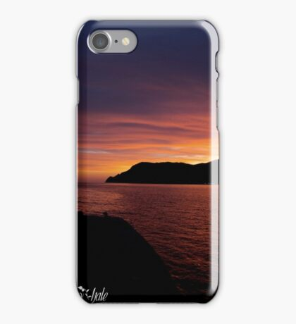 Vernazza Sunset iPhone Case/Skin