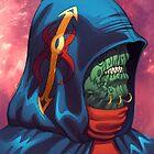 Evil Alien Diplomat Art by Al Rio by alrioart