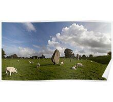 Avebury Stone Circle Poster