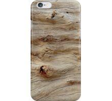 Smooth Beach Wood In Hawaii iPhone Case/Skin