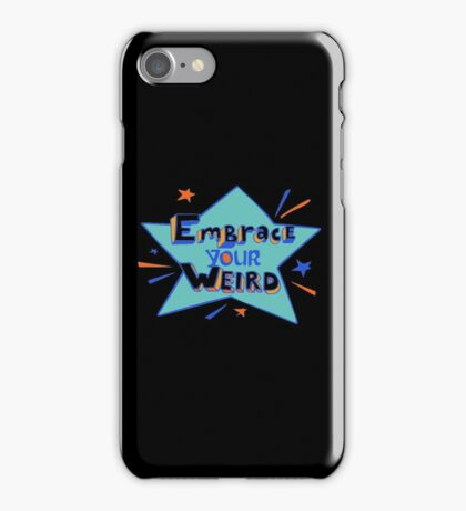 Official Felicia Day - Embrace Your Weird Apparel iPhone Case/Skin