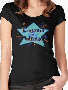 Official Felicia Day - Embrace Your Weird Apparel Women's Fitted Scoop T-Shirt
