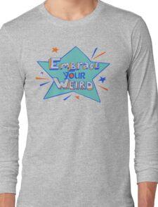 Official Felicia Day - Embrace Your Weird Apparel Long Sleeve T-Shirt