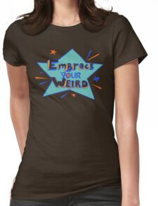 Official Felicia Day - Embrace Your Weird Apparel Womens Fitted T-Shirt