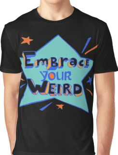 Official Felicia Day - Embrace Your Weird Apparel Graphic T-Shirt