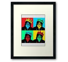 Biggie Warhol Framed Print