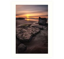 Castlerock Sunset Art Print