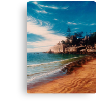 Balding Bay - Magnetic Island Canvas Print