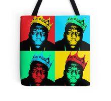 Biggie Warhol Tote Bag