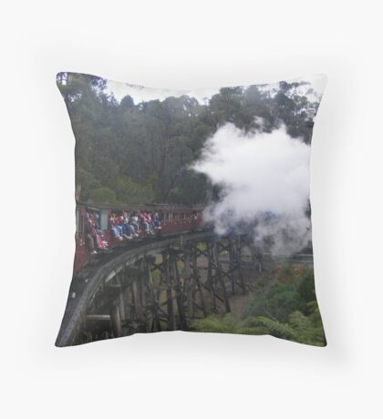 Puffing Billy. Throw Pillow