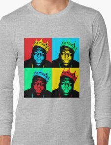 Biggie Warhol Long Sleeve T-Shirt