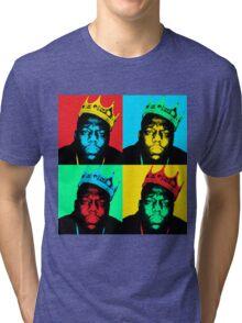Biggie Warhol Tri-blend T-Shirt