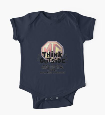 MG think outside the box One Piece - Short Sleeve