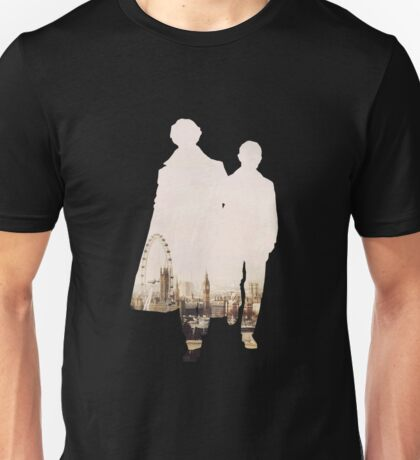 Sherlock London Skyline Unisex T-Shirt
