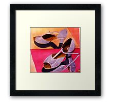 My Dancing Shoes Framed Print