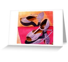 My Dancing Shoes Greeting Card