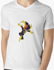 Batgirl Mens V-Neck T-Shirt