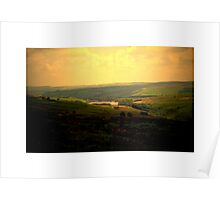 Light Country View Poster