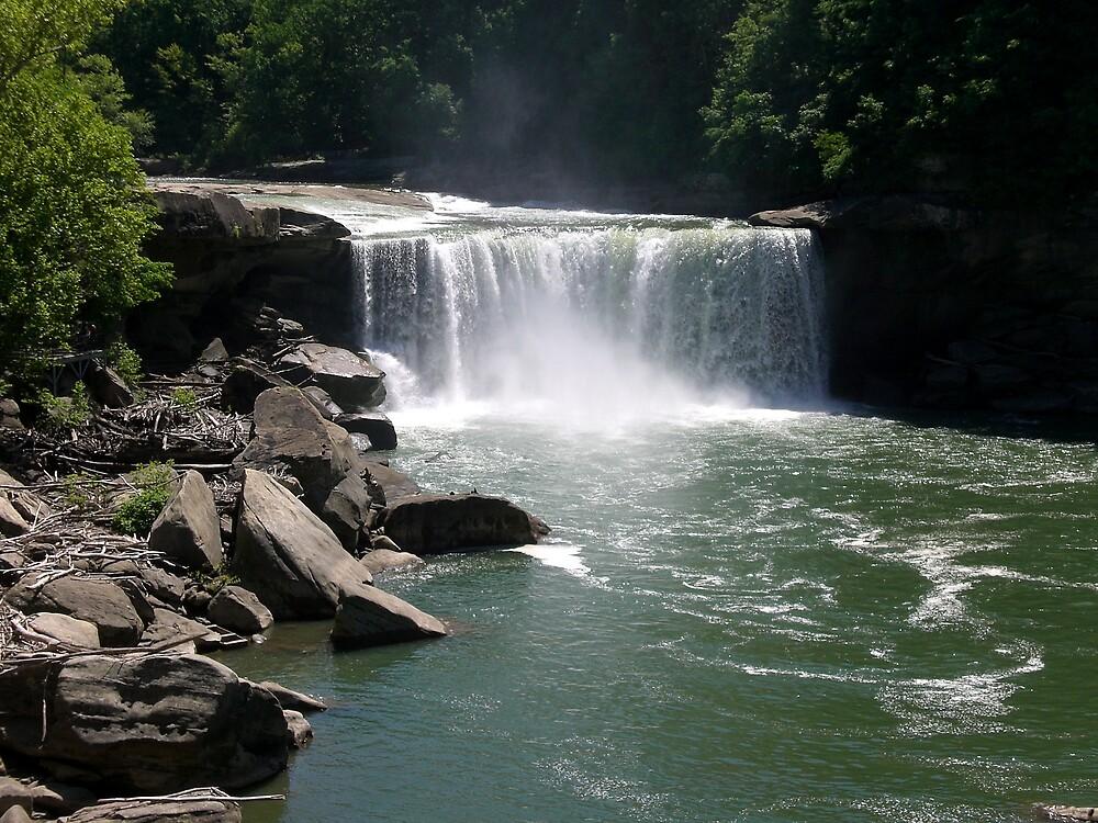 Cumberland Falls by Steven Slusher