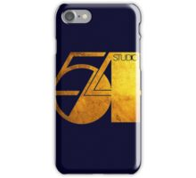 Studio 54 Golden Logo iPhone Case/Skin