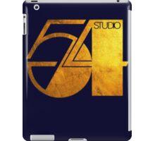 Studio 54 Golden Logo iPad Case/Skin