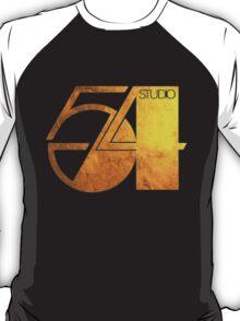 Studio 54 Golden Logo T-Shirt